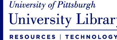 University of Pittsburgh ULS